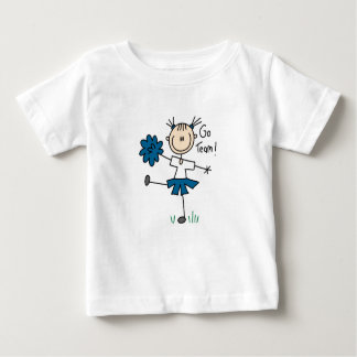 Blue Go Team Cheerleader T-shirts and Gifts