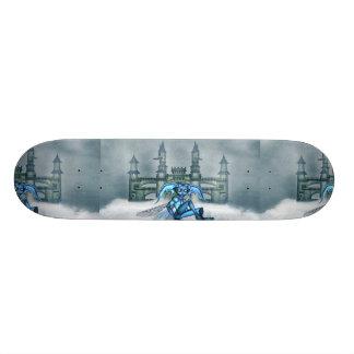 Blue Goblin Skate Board