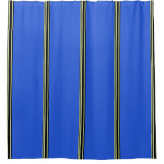 Black And Gold Shower Curtains
