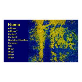 Blue Gold Designer Business Card Business Cards