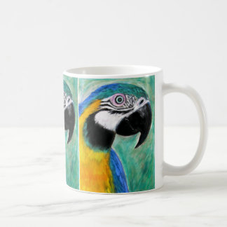 Blue Gold Macaw Mug