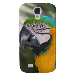 Blue & Gold Macaw Samsung Galaxy S4 Cover