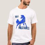 Blue-Gold Mustang Shirt