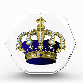 Blue & Gold Royal Crown Award