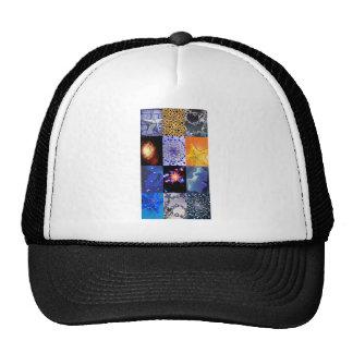 Blue & Gold Stars Photos Collage Trucker Hat