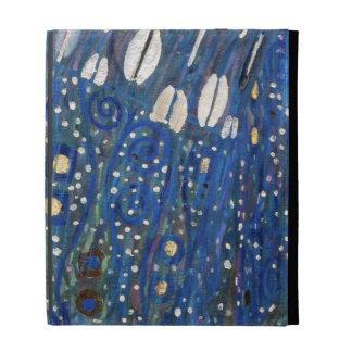 Blue Gold White Klimt Art Nouveau Ipad Case