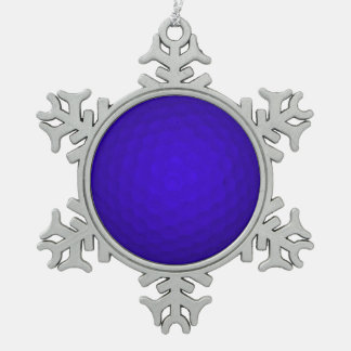 Blue Golf Ball Ornament