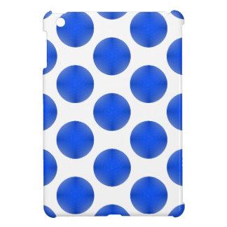 Blue Golf Ball Pattern iPad Mini Cover