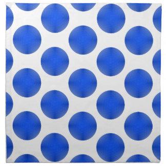 Blue Golf Ball Pattern Napkin
