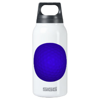 Blue Golf Ball Thermos Bottle
