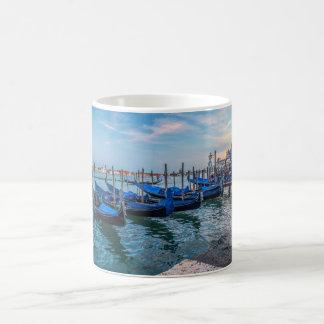 Blue Gondolas in Venice Mug