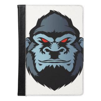 blue gorilla head iPad air case