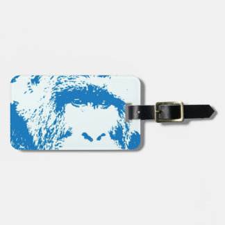 Blue Gorilla Tag For Bags