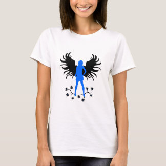 Blue Goth Angel shirt