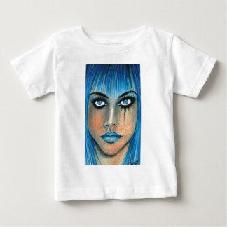 Blue Goth Baby T-Shirt
