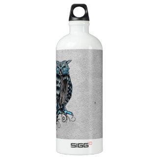 Blue Gothic Owl Halloween SIGG Traveler 1.0L Water Bottle