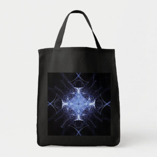 Blue Gothic Princess  Fractal Tote Bag
