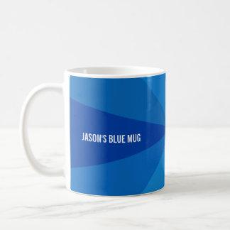 Blue Gradient Add Text Mug