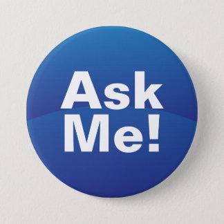 Blue Gradient Ask Me Text Button