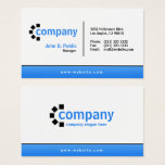 "Blue Gradient Bottom Simple Modern Professional Business Card<br><div class=""desc"">A clean and professional two sided business card design in blue,  black and white color. Add your details to this professional business card and customize this simple but modern design to your liking. Use the blue gradient design template to create your own unique business card.</div>"