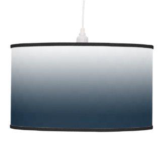 Blue gradient ceiling lamp