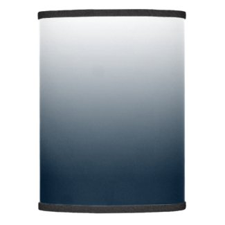 Blue gradient lamp shade