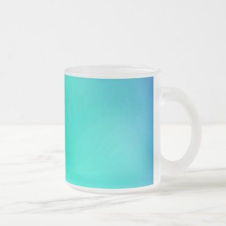 BLUE GRADIENT SOLID COLORS 211 BACKGROUNDS WALLPAP FROSTED GLASS COFFEE MUG
