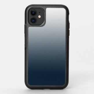 Blue gradient - top to bottom OtterBox symmetry iPhone 11 case