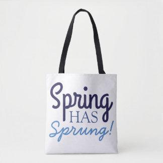 Blue Gradient Tote Bags | Spring Has Sprung |