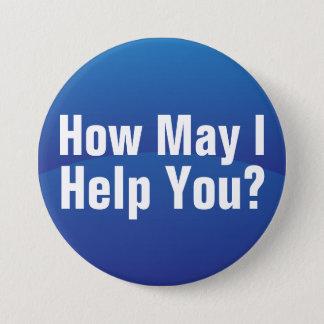 Blue Gradient Wave Help You Button