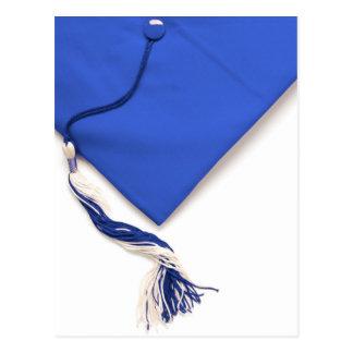 Blue Graduation Cap and Tassel Postcard