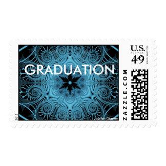 Blue-GRADUATION Stamps