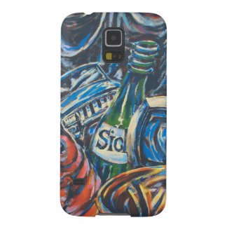 Blue Graffiti Art from the East Side Gallery Galaxy S5 Cover
