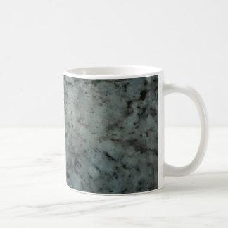 Blue Granite Texture Photography Coffee Mugs