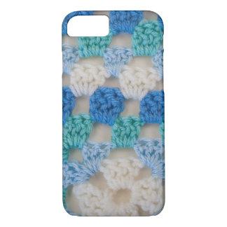 Blue Granny Square iPhone 7 Case