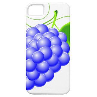 blue grape illustration for a vegetables or casino iPhone SE/5/5s case