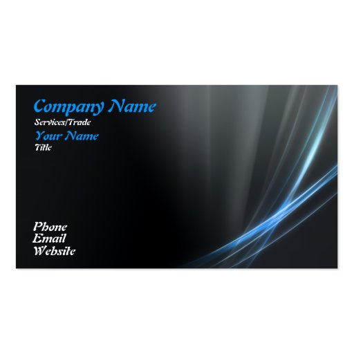 Blue Graphic design 1 Business Cards