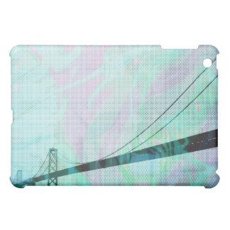 Blue Graphic Storm Bridge Cover For The iPad Mini