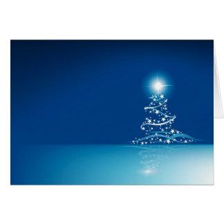 Blue graphics for Christmas - Carte De Vœux