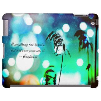 Blue Grass Drama Sparkle iPad Case