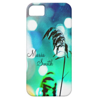 Blue Grass Drama Sparkle iPhone5 Case *Personalize