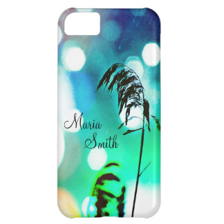 Blue Grass Drama Sparkle iPhone5c Case*Personalize Case For iPhone 5C