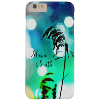 Blue Grass Drama Sparkle iPhone6+ Case-Personalize Barely There iPhone 6 Plus Case