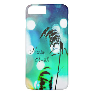 Blue Grass Drama Sparkle iPhone7+ Case-Personalize iPhone 7 Plus Case