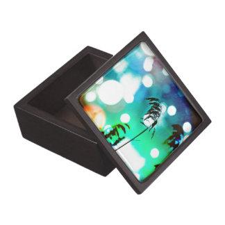 Blue Grass Drama Sparkle Trinket Box
