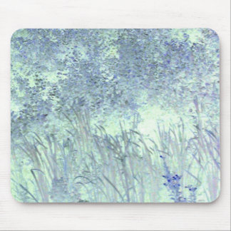 blue grass mouse pad