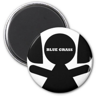 Blue Grass Music Magnet
