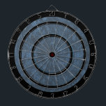 "Blue Gray and Black Regulation Dart Board<br><div class=""desc"">Great looking regulation dart board with a touch of color. Nice blue gray texture without deterring from the important parts of the board. I shoot darts and although many of the design boards look great they would be more of a picture hanging on my wall than a game board. I...</div>"