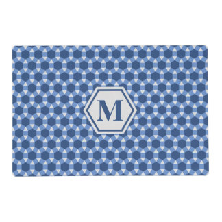 Blue Gray and Navy STH Placemat