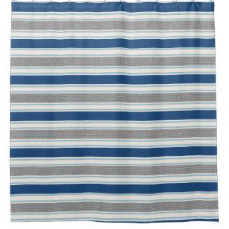 Blue Gray Shower Curtains | Zazzle